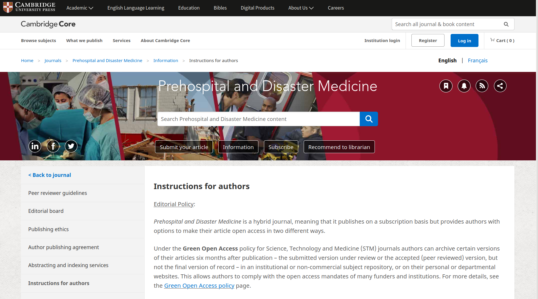 Follow the Instructions for Authors